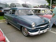 First car I  owned,1953 Plymouth