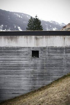 Thermal Baths Vals (1996) by architect Peter Zumthor. Location: Vals, Graubünden, Switzerland.