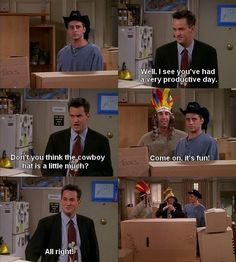 ross,chandler,and joey