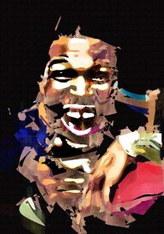 Michael Strahan Cubism Abstract Painting - Virtual Painter 6.