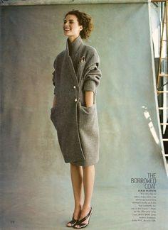 Vuitton coat.....dreaming..