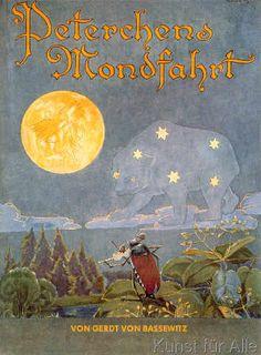Hans Baluschek - Bassewitz,Peterchens Mondfahrt/Baluschek