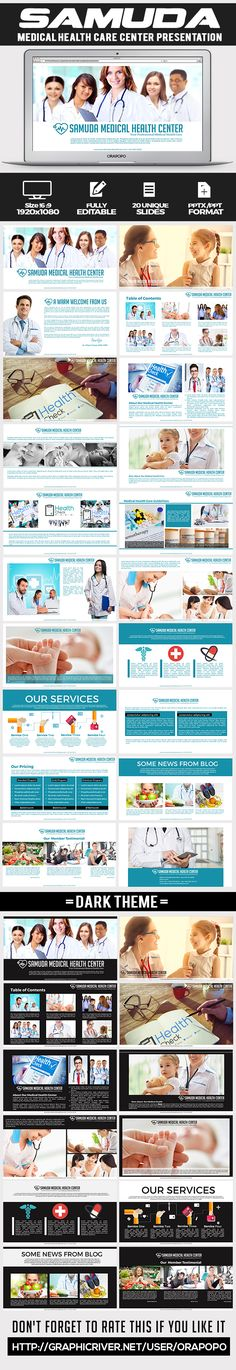 Download Free Graphicriver              Samuda ~ Medical Health Care Presentation             #care #clean #clinic #dentist #health #healthcenter #healthmedicalcarecenter #heart #hospital #medical #modern #multipurpose #neurology #orthopedics #patient #people #pharmacy #privatepractice #qrcode #surgeon #travelmedicine #universal