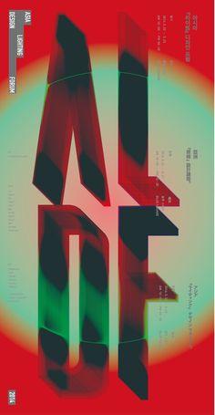 Asia Lightning Design Forum Poster Joonghyun Cho — 2014