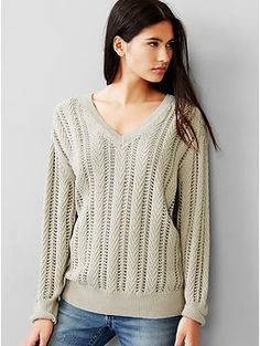 Cable knit pullover sweater | Gap