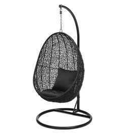 Hobbyhall - Leyte-riipputuoli ja teline - 299.- sisältyy tuoli, teline ja tyynyt