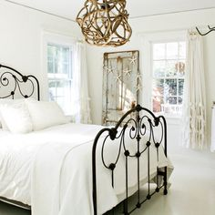 Bronze Wrought Iron Bed Frame Design Ideas, Pictures, Remodel and Decor