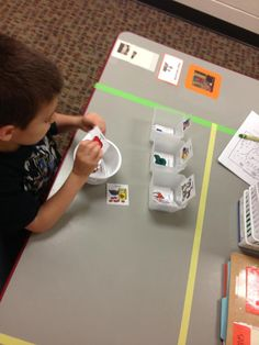 Great task and visual supports from TASN - Autism and Tertiary Behavior Supports
