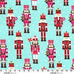 Fat Quarter Nutcrackers Christmas Cotton Quilting Fabric Michael Miller by Petestreasuretrove on Etsy Patchwork Fabric, Cotton Quilting Fabric, Stash Fabrics, Etsy Fabric, Cotton Crafts, Michael Miller Fabric, Nutcracker Christmas, Christmas Fabric, Aqua Christmas