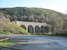 Swanage Railway Bridge just outside of Corfe Castle.