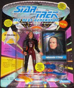 Ambassador K'Ehleyr Star Trek The Next Generation Action Figure NIB Playmates