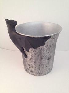Adorable bat ice bucket from Pottery Barn