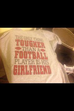 #football #girlfriend #shirt