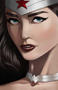 Wonder Woman by *MarcRene