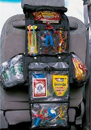 travel bag used for car snacks and stuff