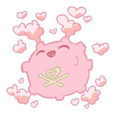 Loveable pink Koffing