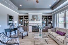 Cozy living room designed to the hilt