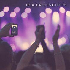 Asistir a un concierto #Before25