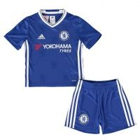 Chelsea 2016-2017 Home Shirt For Kids