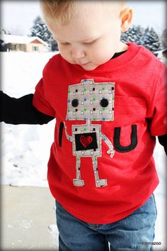 Robot Loves U by Xannazoo on Etsy