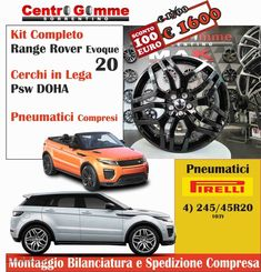 Kit Cerchi In Lega Range Rover Evoque Sport 20 Con Pneumatici 100 Euro, Range Rover Evoque, Kit, Sports, Ebay, Sanitary Napkin, Hs Sports, Sport
