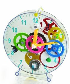 rogeriodemetrio.com: First Time Clock Puzzle Clock