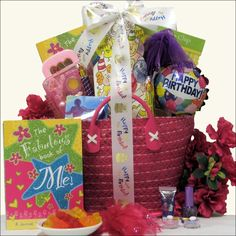 iTunes Girl Tween Birthday Gift Basket