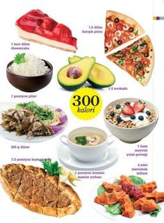 What do 300 calories look like? - To me and Nutrition No Dairy Recipes, Diet Recipes, Healthy Recipes, Vegetarian Recipes, Mini Pizza, Vegetarian Appetizers, Diet Meal Plans, Diet And Nutrition, Nutrition Plans