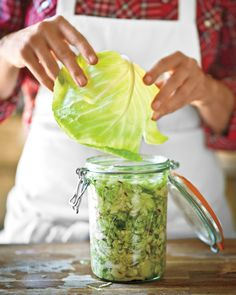 Tips for Making Sauerkraut at Home | Martha Stewart Living — Whipping up a batch of the cabbage condiment is easier than it looks! Consider this your crash course.