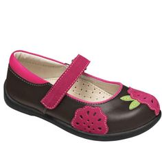 We currently have these -- love, love, love & ordering now in larger size for next fall.    See Kai Run Girls Andrea Brown from seekairun.com - cool baby shoes, toddler shoes, kids shoes and baby booties.