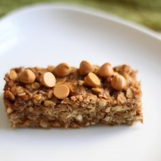 Honey Peanut Butter Pretzel Granola Bars