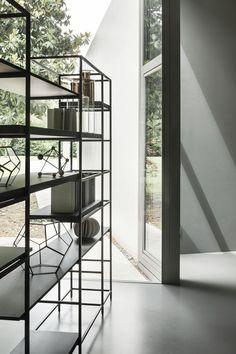 Modernes Regal / Holz / Metall / Gestrichenes Holz PLAIN By Francesco Rota  LEMA Home