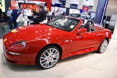 Red Maserati Spyder