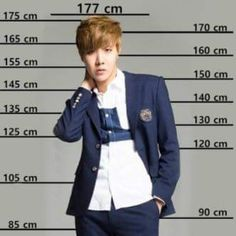 Compare your height with the BTS members.