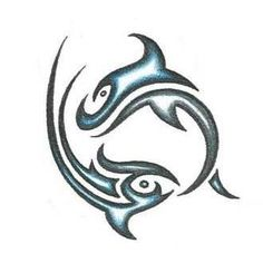 Pisces 9 - $9.95 : Tattoo Designs, Gallery of Unique Printable Tattoos Pictures and Ideas