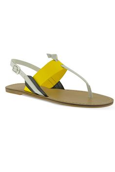 15 Colorful Sandals You'll Wear All Summer #refinery29  http://www.refinery29.com/color-block-sandals#slide13