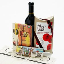 Forget cheese. Wine and chocolate tasting!