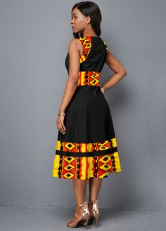 Short African Dresses, Latest African Fashion Dresses, African Print Fashion, African Clothes, Ankara Fashion, Africa Fashion, African Prints, African Fabric, India Fashion