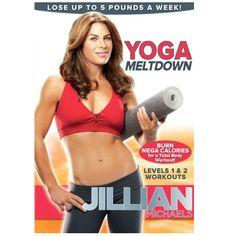 Yoga DVDs for beginners: Our 5 best picks for at-home yoga - Jillian Michaels: Yoga meltdown - http://www.urbanewomen.com/yoga-dvds-for-beginners-our-5-best-picks-for-at-home-yoga.html
