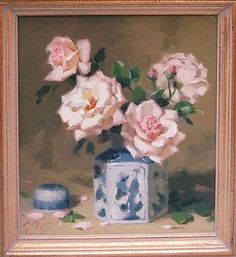 PATRICIA MORAN (20th century), 'Tea Roses - by Lots Road Auctions