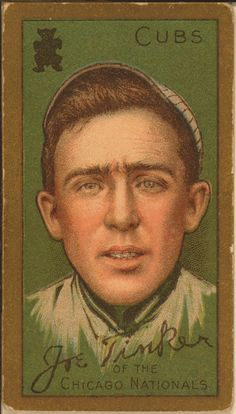 Joe Tinker - Chicago Cubs - 1946