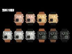 Best Mens Luxury Watches, Mens Luxury Brands, Best Watches For Men, Cheap Watches, Cool Watches, Sport Watches, Digital Sports Watch, Rose Gold Watches, Black Watches