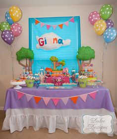 lalaloopsy birthday party | Party via Kara's Party Ideas | Kara'sPartyIdeas.com #lalaloopsy #party ...
