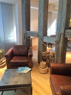 raumteiler aus alten balken wohnidee frische ideen f r die wohnung in 2018 haus raum und. Black Bedroom Furniture Sets. Home Design Ideas