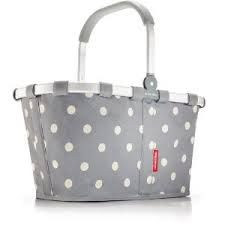 It's all about gray and white polka dots