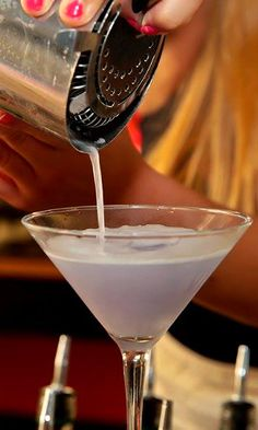 Daquiri Cocktail ~ Ingredients: 1 1/2 oz White Rum, 1/2 oz Simple Syrup, 1 oz Lime Juice Preparation: Pour all ingredients into shaker with ice cubes. Shake. Strain in chilled cocktail glass. Served: Straight up; no ice