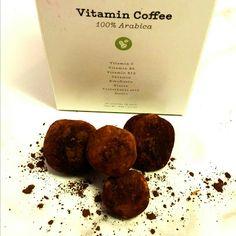 Mocha Coconut Yevo Energy balls.  Super easy, VEGAN and delicious!
