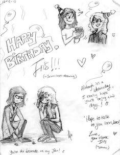 Cute Birthday Drawings For Boyfriend Happy Birthday Doodles, Drawings For Boyfriend, Words, Cute, Kawaii, Horse