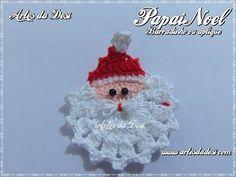 Vida com Arte   Enfeite Natalino em Crochê por Denise Lopes - 14 de Novembro de 2014 - YouTube