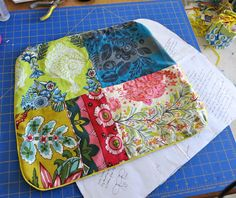 Patchwork cushions for booth seating??